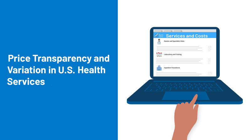 Price Transparency and Variation in U.S. Health Services